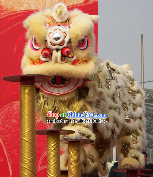 Big Festivals and Events Celebration Supreme Competition Lion Dancing Costume Complete Set
