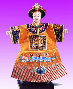 Chinese Classic Original Hand Puppet Handicraft-Emperor of Qing