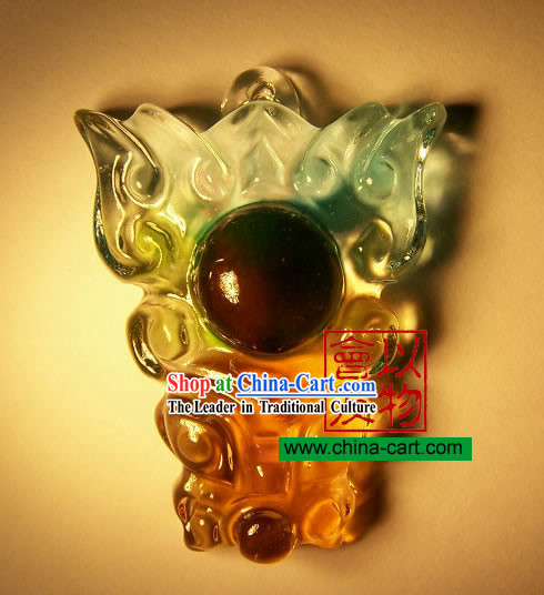 Chinese Classic Ancient Method Colored Glazed-Dragon Eye