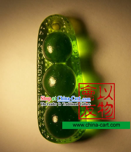 Chinese Classic Ancient Method Colored Glazed-Missing Beans