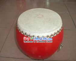Chinese Traditional 20cm Diameter High Zhan (Standing) Drum
