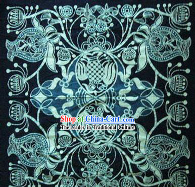 Chinese Classical Batik Tablecloth-Double Fishes Playing Water