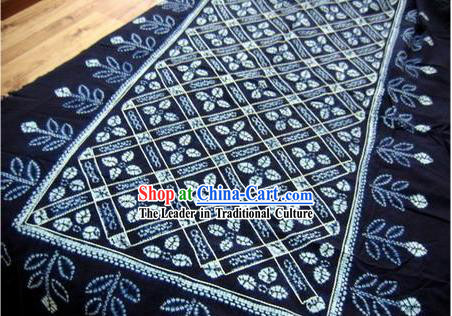 Chinese Classical Large Batik Tablecloth-Nature