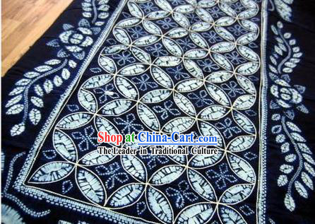 Chinese Classical Large Batik Tablecloth