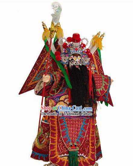 Chinese Classic Original Hand Puppet Handicraft - Ancient General