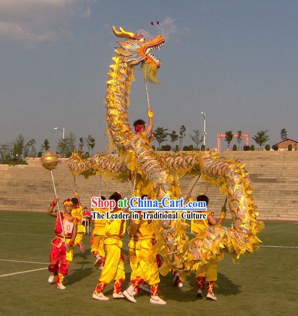 Lightweight Net Dragon Dance Costumes Complete Set