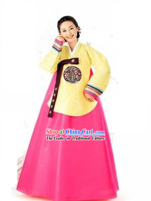 Classical Korean Hanbok Complete Set for Women