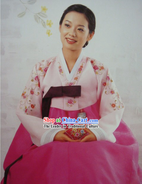 Korean Classic 100% Handmade Korean Hanbok for Woman