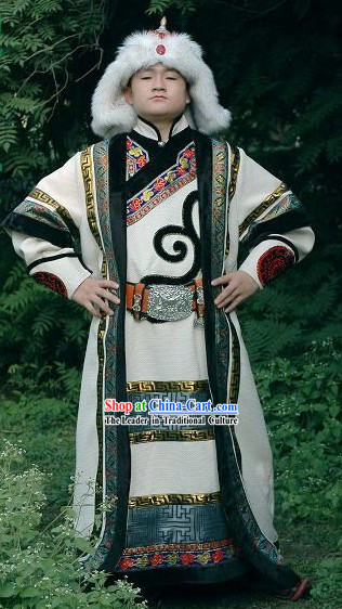 Genghis Khan Costume Complete Set