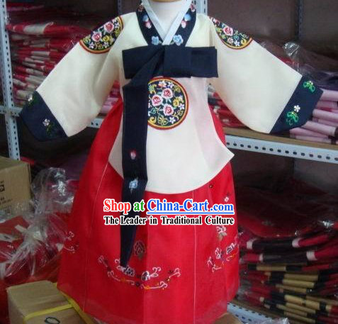 Children Hanbok Dress Complete Set