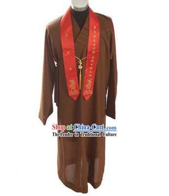 Chinese Shaolin Monk Robe / Monk Costume