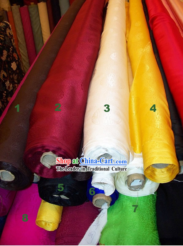 Longevity Pure Silk Fabric