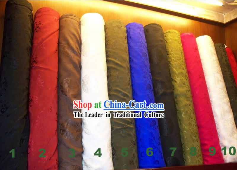 Chinese Silk Brocade Fabric