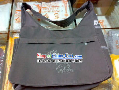 Chinese Traditional Handmade Canvas Travel Bag