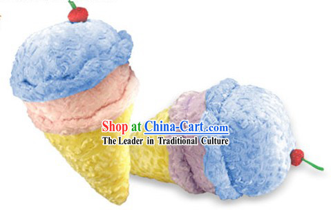 Ice-Cream Cone Downy Feathers Pillow
