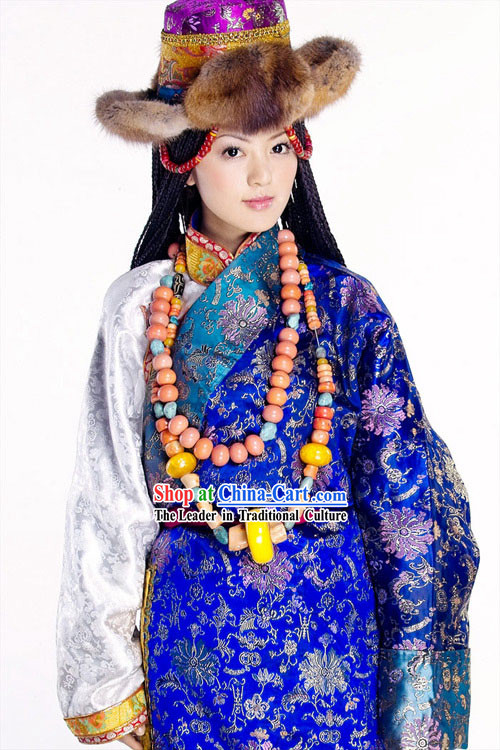 Chinese Tibet Classic Princess Dance Costume for Women