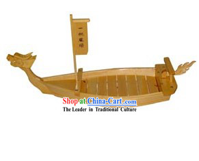 Top Quality Large Wooden Sushi Sashimi Serving Boat