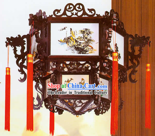 Classic Dragon Hanging Lantern _ Dragon Chinese Lantern
