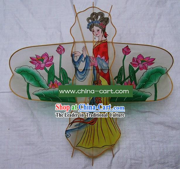 Chinese Classical Hand Made Kite - Lotus Fairy