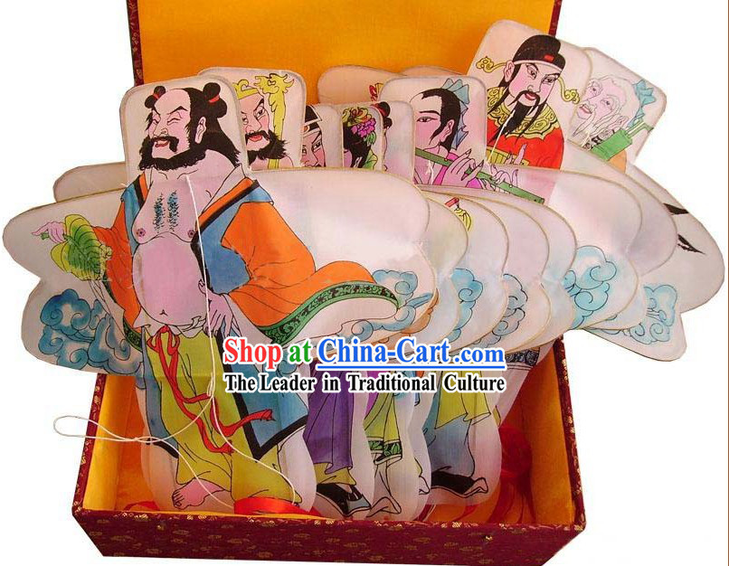 Chinese Classical Hand Painted Kite - the Eight Immortals