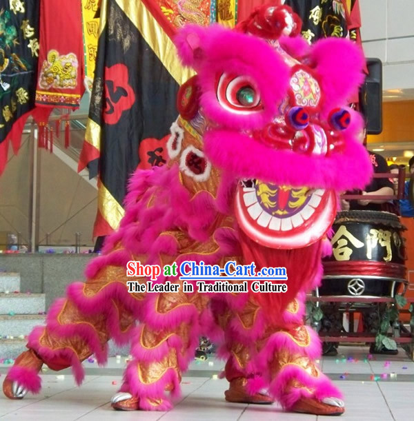 Competition and Parade Lion Dance Costumes Complete Set