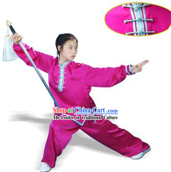 China Professional Mulan Quan 100_ Silk Uniform
