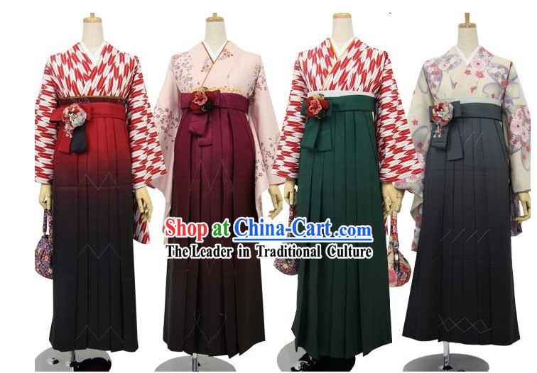 Custom Made Traditional Japanese Kimono According to Your Requirements