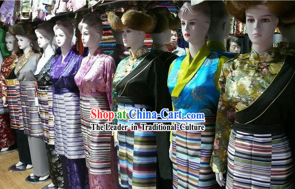 China Tibet Traditional Clothing for Women