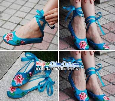Traditional Handmade Lotus Slipper