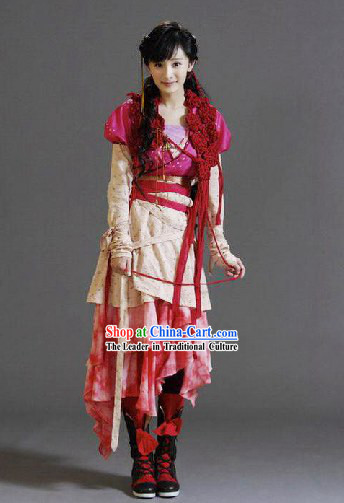 Ancient Chinese Swordswoman Costume