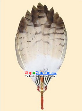 Supreme Eagle Feather Buddha Fan