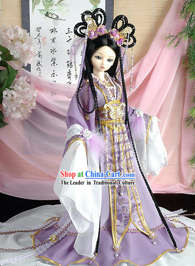 Chinese Girls Dress Up Costume Complete Set