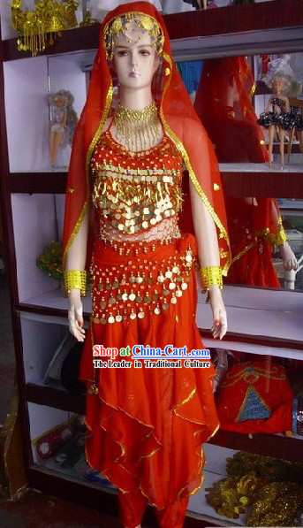 Traditional Indian Dance Costumes for Women