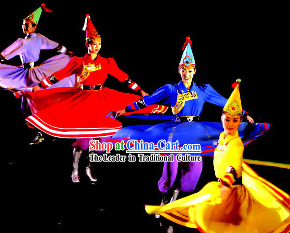 Mongolian Dance Costumes Complete Set