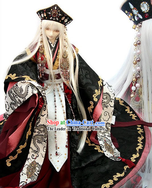 Japanese Ancient Emperor Costume Complete Set