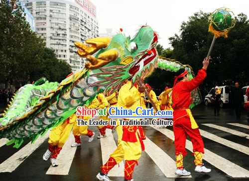 Lightweight Net Dragon Dance Equipments Complete Set