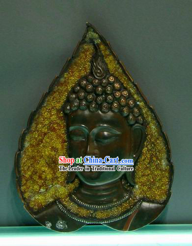 Large Asian Thai Buddha Head