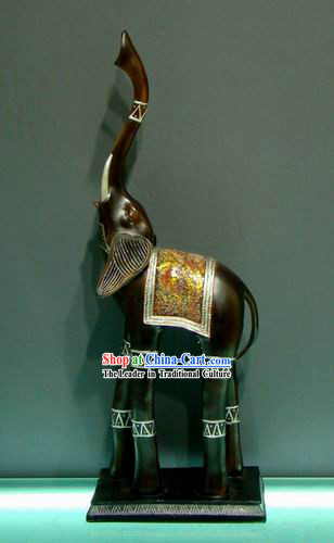 Large Southeast Asia Thai ELephant Statue
