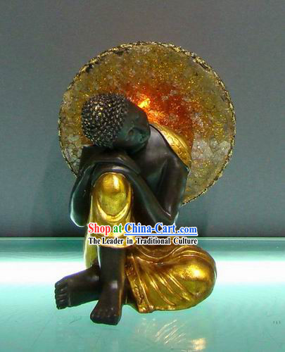 Southeast Asia Thai Figurine of Sleeping Buddha