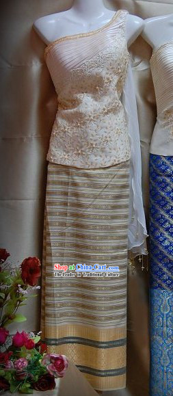 Thai Classic National Costume Complete Set