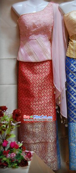 Thai National Costume Complete Set