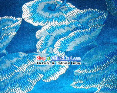 Cloud Flower Silk Fabric