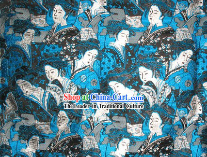 Japanese Gisha Silk Fabric