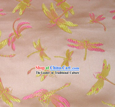 Chinese Traditional Dragonfly Fabric
