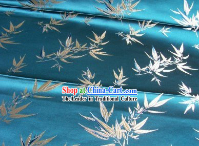 Chinese Classical Bamboo Brocade Fabric