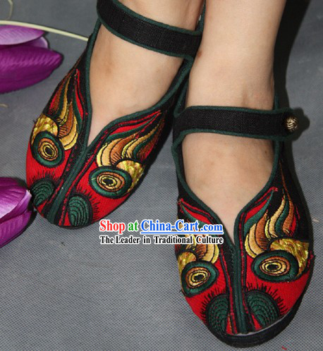 Chinese Handmade Tiger Cloth Shoes