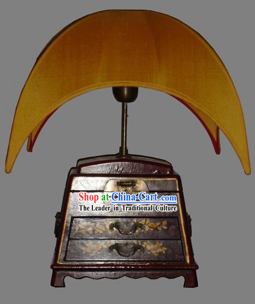 Chinese Antique Style Moon Silk Lantern