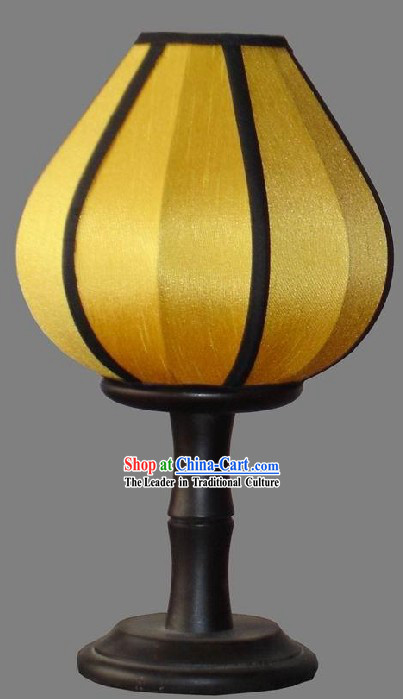 Chinese Yellow Antique Lanterns / Nylon Lanterns
