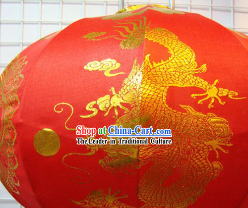 Happy Festival Dragon Lantern