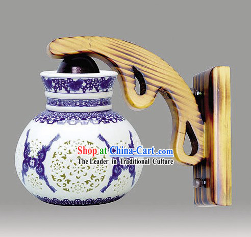 Chinese Classical Ceramic Lantern Ornament